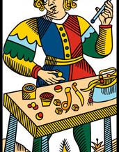 Les sept couleurs représentées dans le Tarot