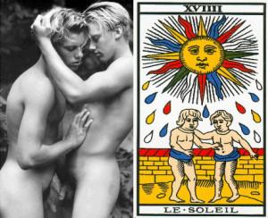 homosexualité et tarot de marseille