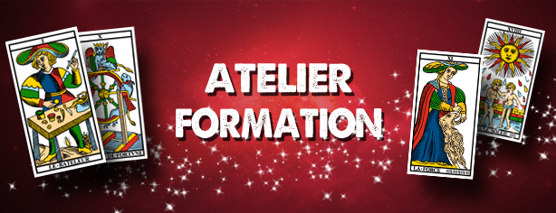 Atelier annuel formation Tarot Marseille Oracle Belline