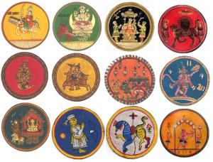 Carte du Dasavatara cours de tarologie Frank Durand