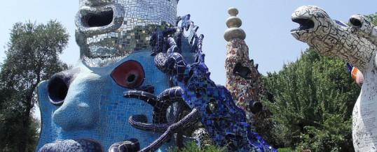 Le jardin des tarots de Niki de St Phalle